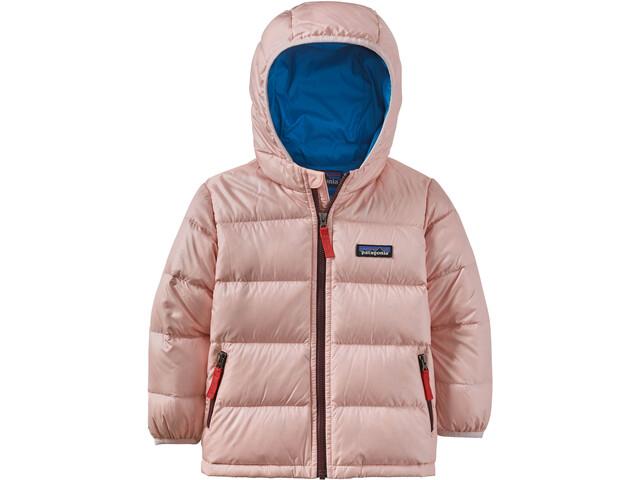 Patagonia Hi-Loft Veste à capuche Duvet Bébé Enfant, seafan pink